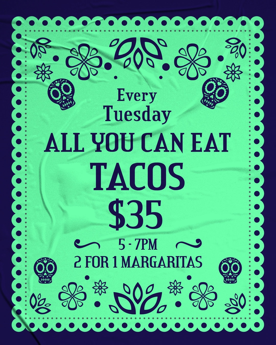 All You Can Eat Tacos